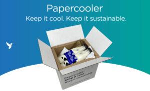 Papercooler: duurzame verpakking voor temperatuur gevoelige producten